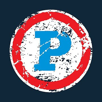 Phantom Superhero Letter P by DOODL
