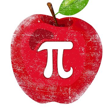 Apple Pi Day - Math Lover Teacher 3.14 Apple Pie Pun by EcoKeeps