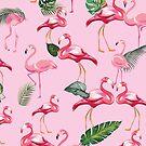 Flamingos Love Pattern 2 by B & K     Store