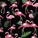 Flamingos Love Pattern 3 by B & K     Store