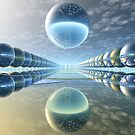 Spherical Reflections 2 by Hugh Fathers