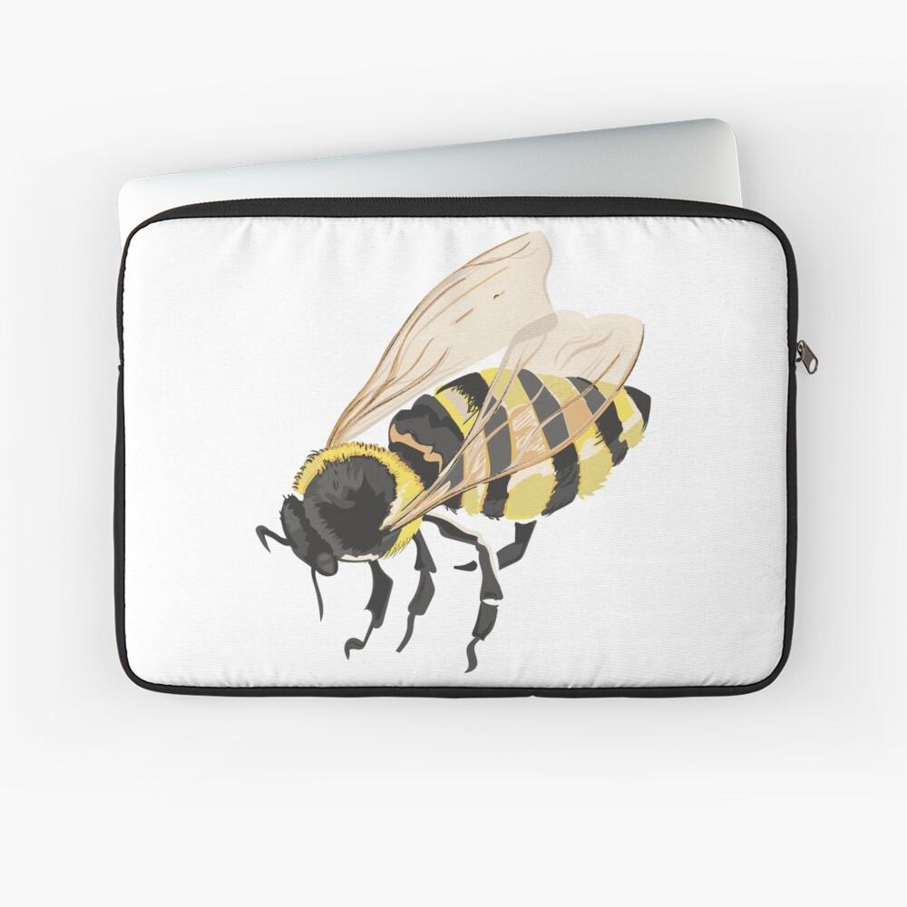 Bee Bee Bee Bees Laptop Sleeve