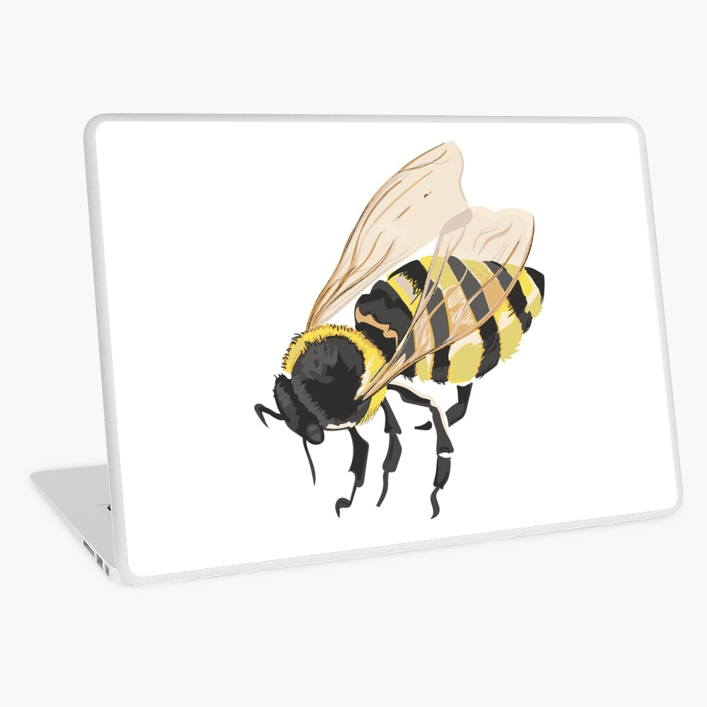 Bee Bee Bee Bees Laptop Skin