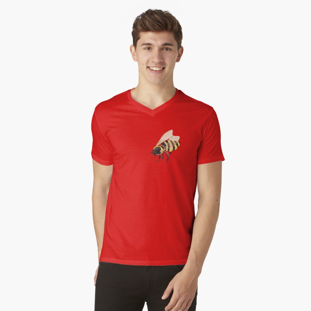 Bee Bee Bee Bees V-Neck T-Shirt