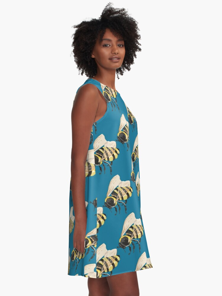 Alternate view of Bee Bee Bee Bees A-Line Dress