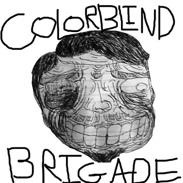 Colorblind Brigade Shirt by Frederich