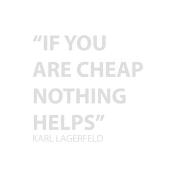 Larl Lagerfeld quote by hypnotzd