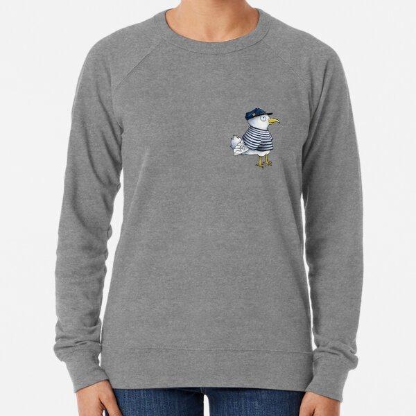 seagulls in sweaters zipper pouch
