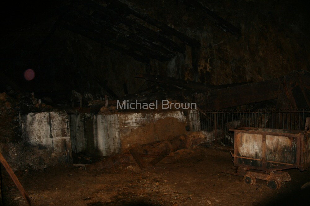 Gold Mine Ghost (ORB) by Michael Brown