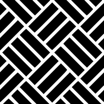 Black and White Tile pattern by TOMSREDBUBBLE