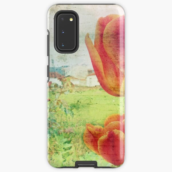tulips in the village Samsung Galaxy Tough Case