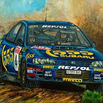 Subaru Impreza 555 (Colin McRae) de JosefMendez