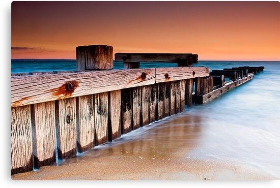 Dusk at Mentone Pier #1 by Jason Green