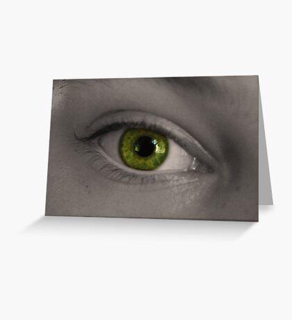 Eye 2 Greeting Card