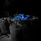 Plastic Explosive - With A Lovely Blue Glow! by Chris Hardley