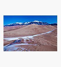 Sand Dune Cafe Mocha Photographic Print