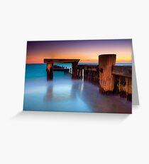 Dusk at Mentone Pier #4 Greeting Card