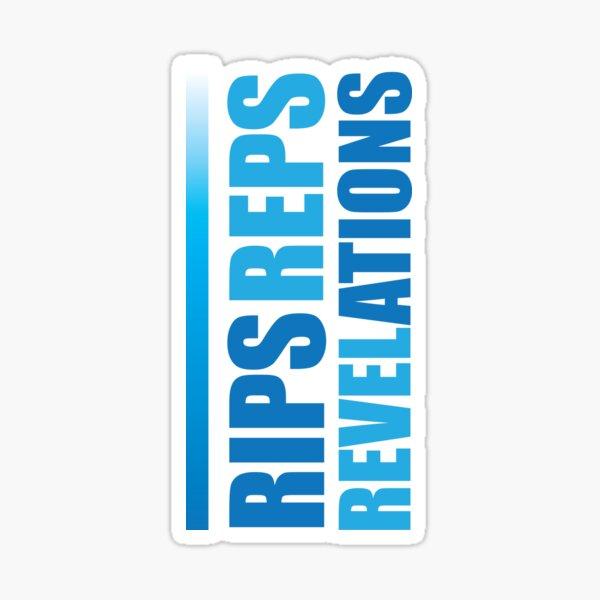 Rips Reps Revelations Letterkenny Sticker