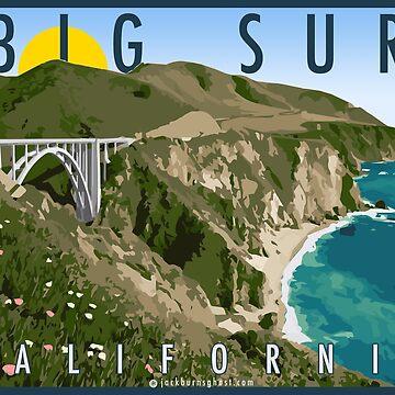 Big Sur Kalifornien von jackburnsghost