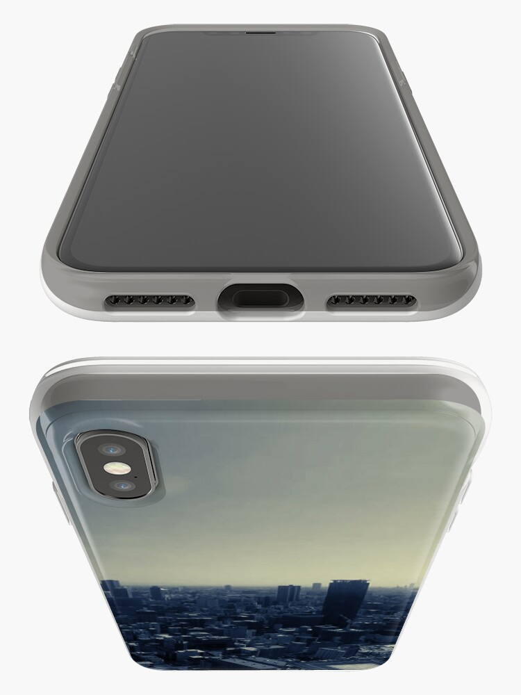 Alternate view of Tokyo Japan skyline summer iPhone Case & Cover