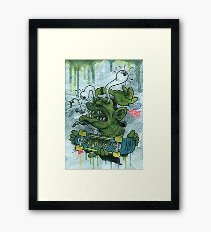Der Shredder Framed Print