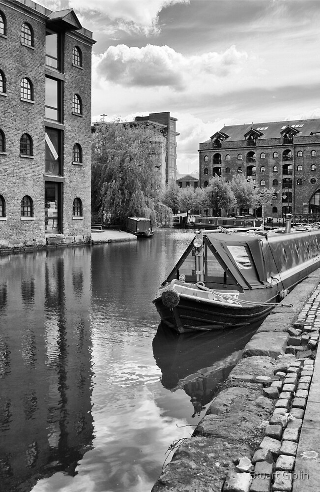 Castlefield Waterways of Manchester by Stuart Giblin