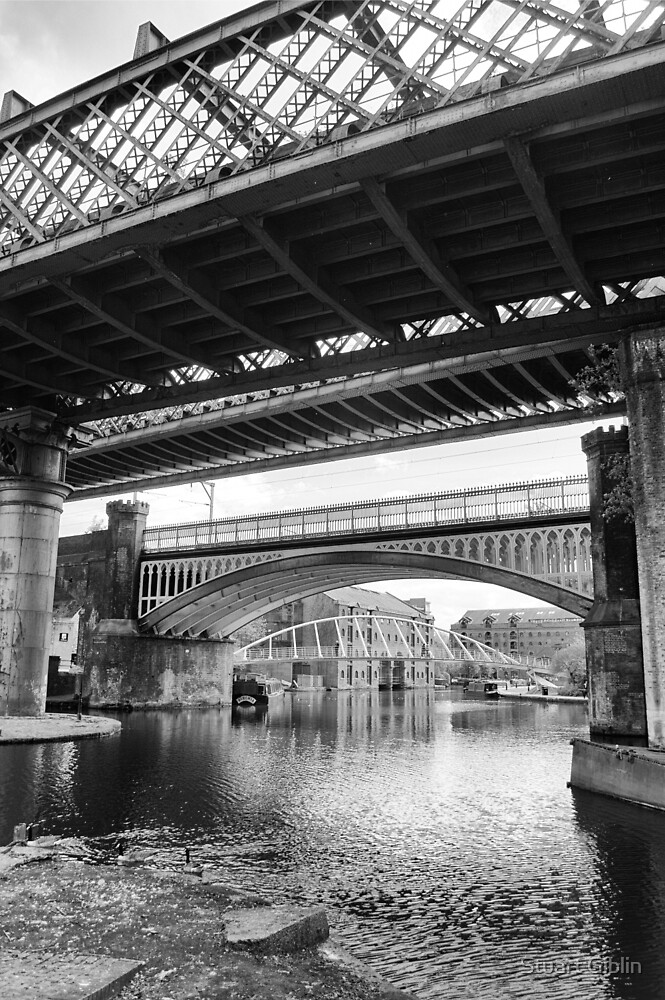 Four Bridges of Castlefield, Manchester by Stuart Giblin