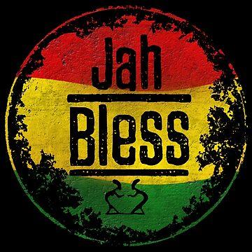 jah bless reggae von Periartwork