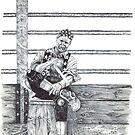 Rodeo Clown  by Scott  Nordstrom