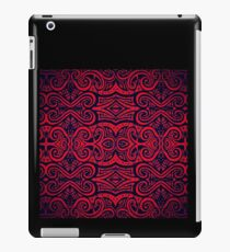 Red & Black Celtic Pattern iPad Case/Skin