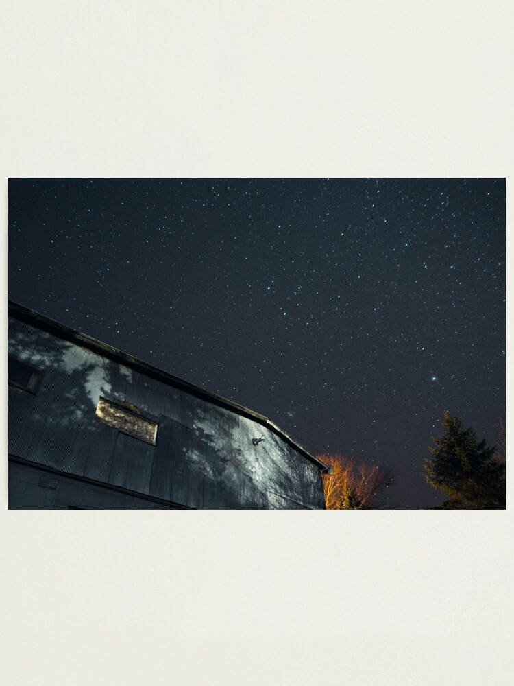 Alternate view of Night Under the Country Sky Photographic Print