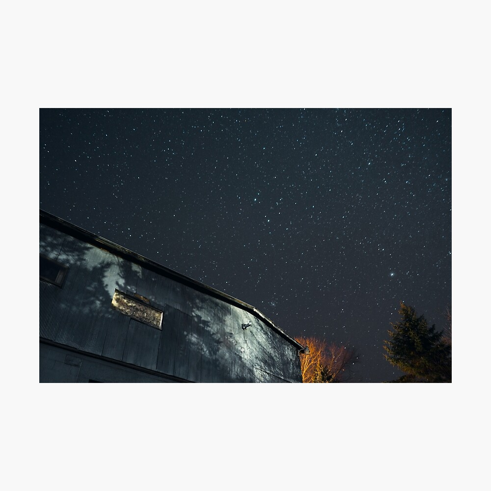 Night Under the Country Sky Photographic Print