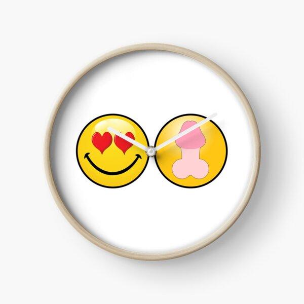 Amo la polla del corazón Reloj