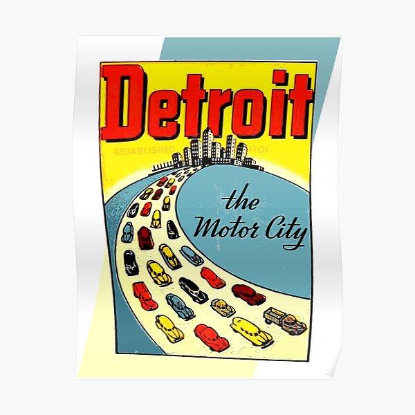 Detroit: The Motor City Poster
