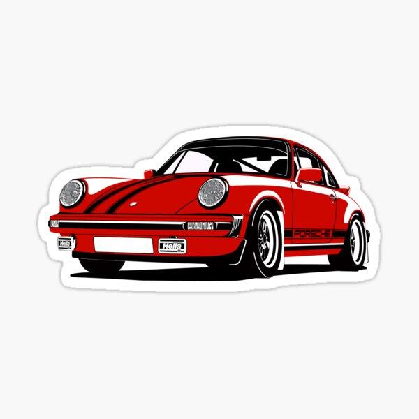 Porsche 911 SC Pegatina