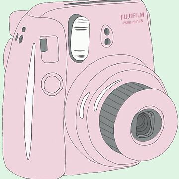 Kawaii Polaroid Instax rosa de PeachPantone