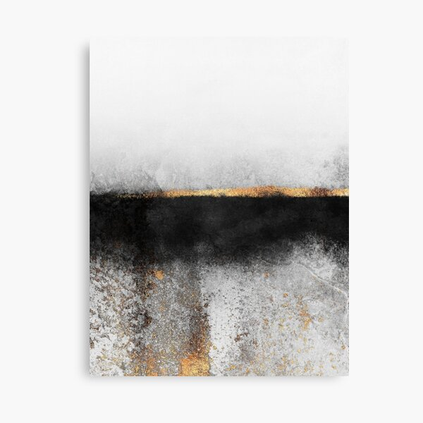Soot And Gold Canvas Print