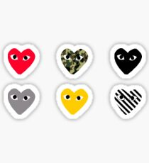 CDG Pattern Pack Sticker