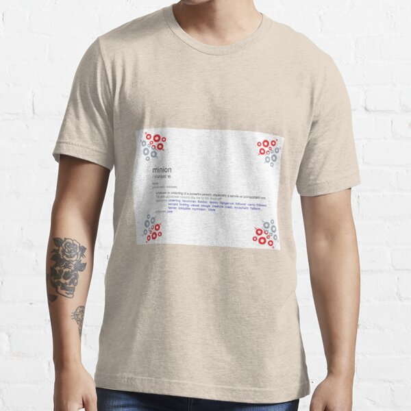 What is the meaning of minion Essential T-Shirt
