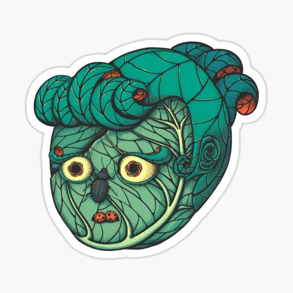Cabbage Lady Sticker