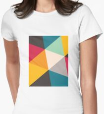 Triangles (2012) Womens Fitted T-Shirt