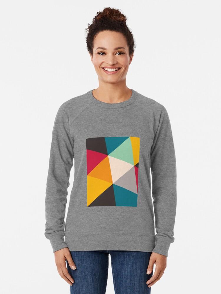 Alternate view of Triangles (2012) Lightweight Sweatshirt