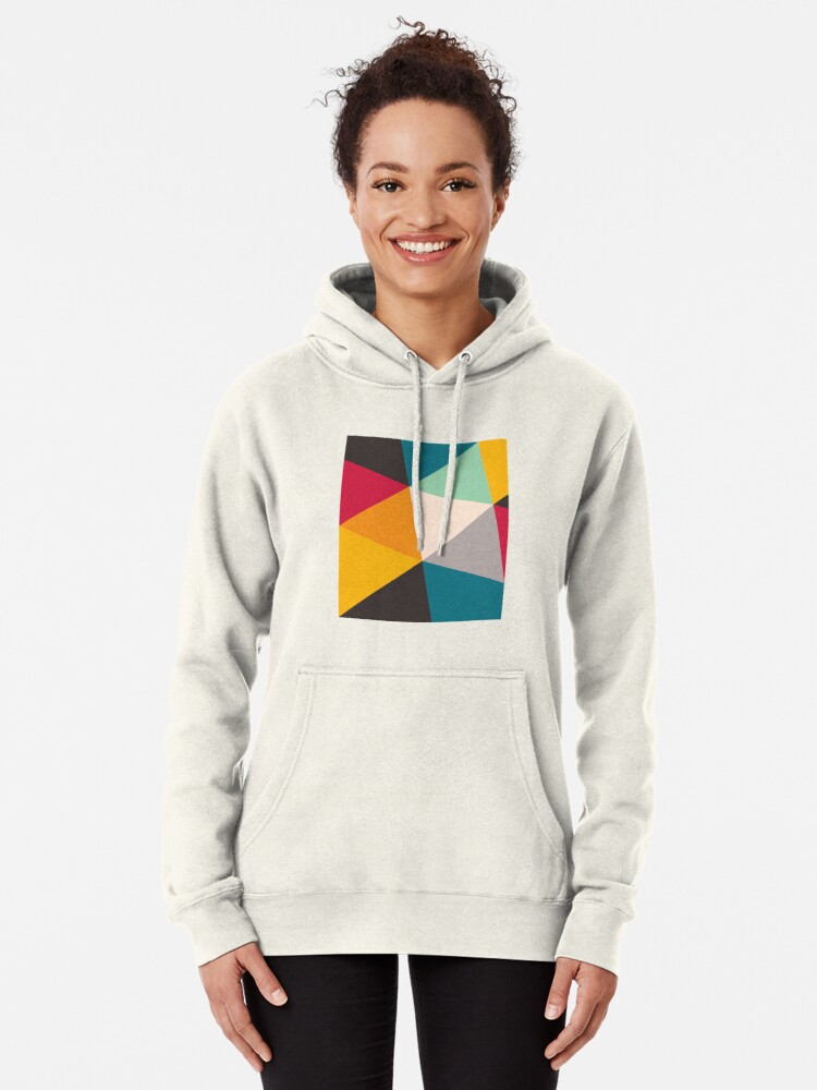 Alternate view of Triangles (2012) Pullover Hoodie