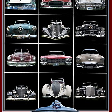 VINTAGE CLASSIC CAR CHROME GRILLES COLLECTION by theoatman