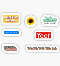 Sticker Pack Stickers- That's the tea sis stickers Sticker