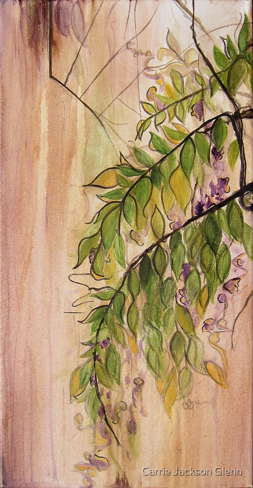 Wisteria Vines by Carrie Jackson