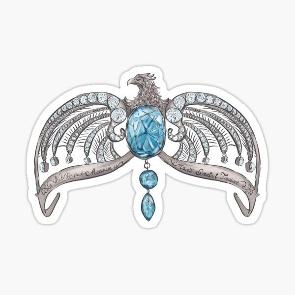 Magic Blue Diadem Sticker