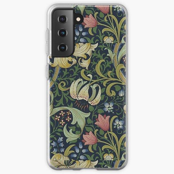 William Morris Golden Lily pattern Samsung Galaxy Soft Case