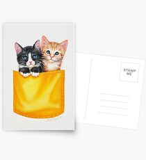 Meow by Maria Tiqwah Postcards