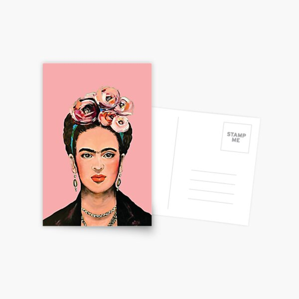Pink FRIDA  Postcard